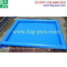 Commercial Inflatable Square Swimming Pool Large Inflatable Pool
