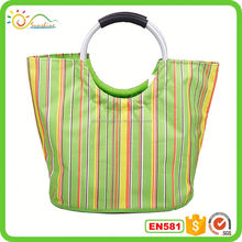 I love dog 210D polyester Foldable reusable shopping bag