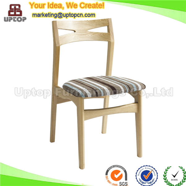 Upholstered solid wood rest chair for parlor (SP-EC819)