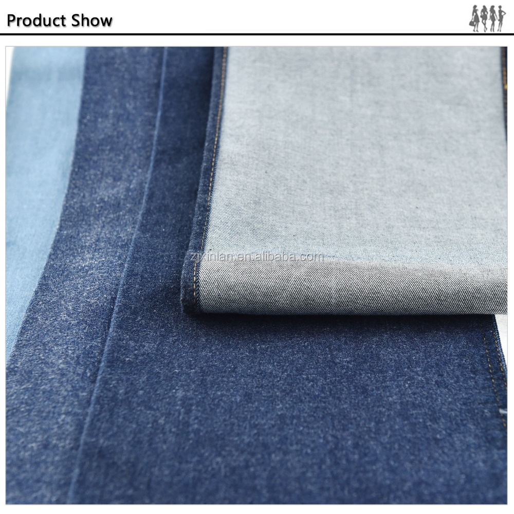 Composition Weaving denim 100% cotton jean fabric textiles