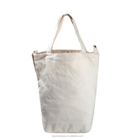 Hot sell the latest designer white canvas handbags ladies