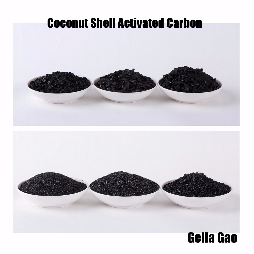 100% Organic coconut shell activated carbon