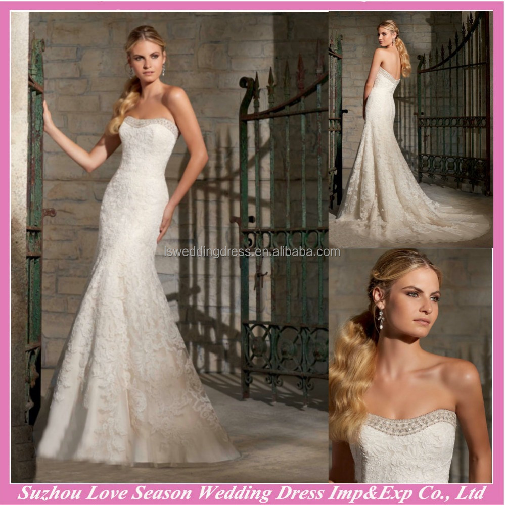 WD10044 white wedding dresses sexy beaded elegant sleeveless lace sweetheart latest wedding gown designs gents wedding dress