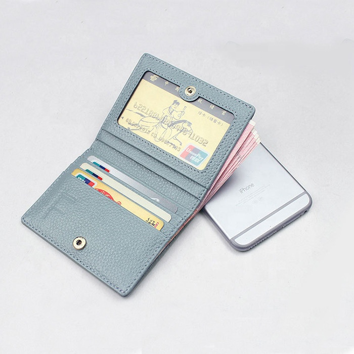 mini woman ultra thin wallet delicate small lady purse