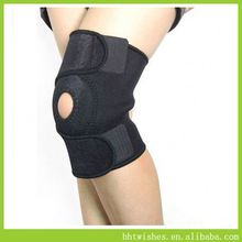 knee brace ,BHT001 jacquard steel spring knee support