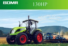 New design wide range of application 4WD 130HP wheeled tractor