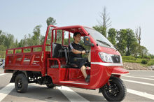 three wheel trike with closed cabin drving room for cargo for 2014 hot sale