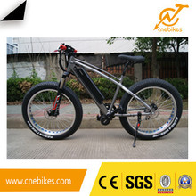 new design fat tire electric snow bike with 36v 500w hub motor and 36v 11.6ah battery