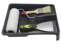 "Strong plastic 6"" paint tools tray"
