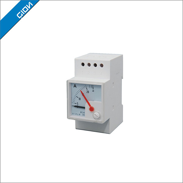 Electrical voltage 400 ampere meter