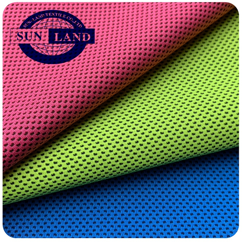 micax yarn dyed cooling mesh sports shirt fabric for sports Towel