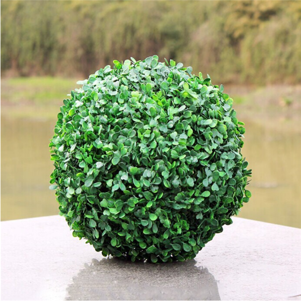 wholesale decorative artificial grass moss ball