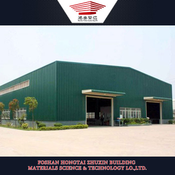 light steel structure warehouse, for the storage