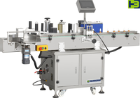 High precision semi automatic wet glue labeling machine