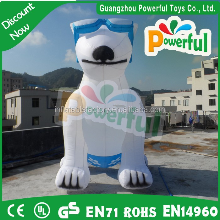 hot sale inflatable dog,inflatable cartoon balloon for advertising
