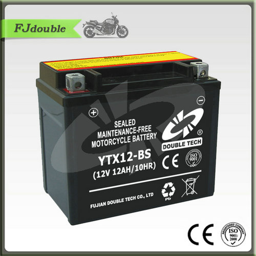 high performance china motorcycle 12v 12ah agm battery