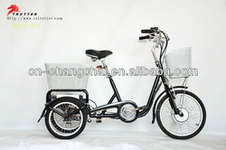 power assisted tricycle