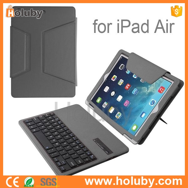 Factory selling best price Bluetooth Keyboard for iPad air, universal tablet case keyboard