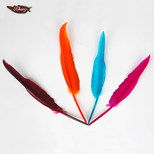 Wholesale Cheap Black Goose Feathers For Pen Sale