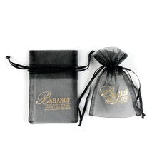 Factory Price Custom Printed Organza Bags, personalized organza bags, drawstring organza bag