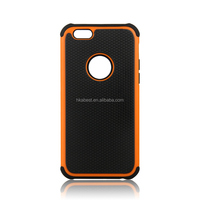 High Quality Combo Case for iphone 6, Silicone triple defender cell phone case wholdesale