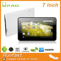 Cheapest! 2013 new item 7inch tablet PC Android4.2.2 Dual Camera 5 point capacitive touch screen