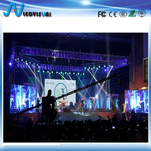 super thin P4.81 stage background video rental led display screen