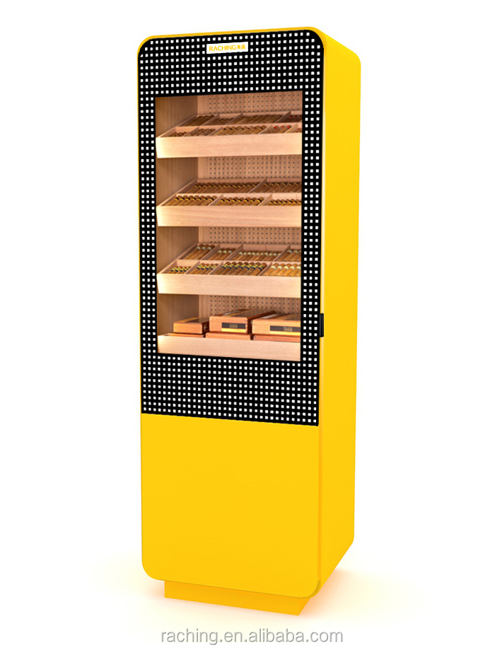 2017 factory wholesale custom design cohiba cigar humidor cabinet