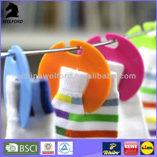 Hot sale new design plastic socks clip hanger