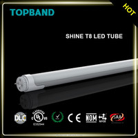 CE ROHS Listed 125 LMW T8 LED Tube with isolated power supply 2FT 4FT 5FT