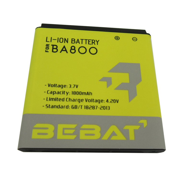 Good quality wholesale price 3.7v 1800mAh li-ion battery BA800 for Sony LT26 LT26i