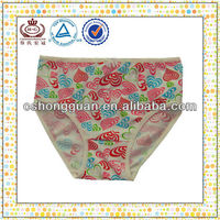 Colorful Girls Underwear / Comfortable Girls Underwear / Little Girls Underwear
