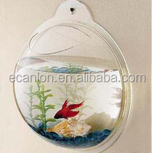 Wall Mounted fish tank acrylic aquarium tank with clear color