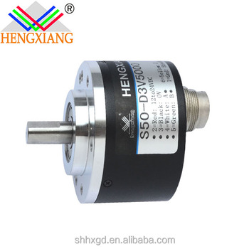 100% good quality S50- Series shaft encoder with switch