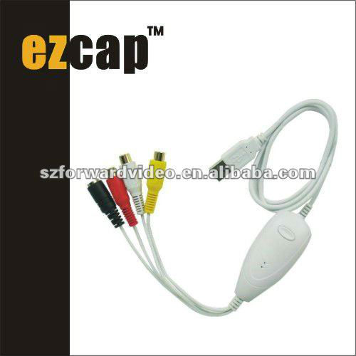 USB Video Grabber for Win&Mac,usb video capture device,video converter ezcap1568