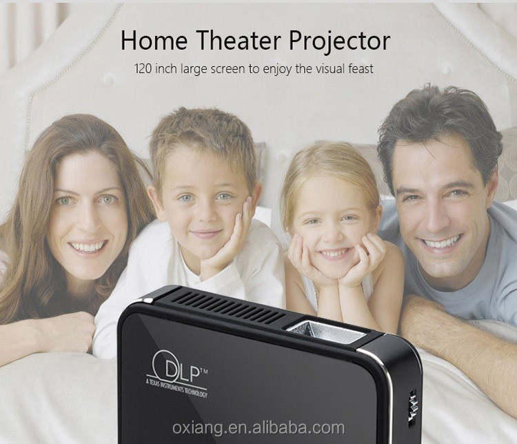 1080P Smart WiFi Plam Size Projector DLP mini pocket projector