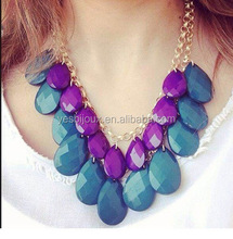 Sweet acrylic water droplets double best wholesale website jewellery