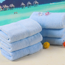 High Quality Healthful Light Blue Bamboo Fabric Towels Good For Promotion