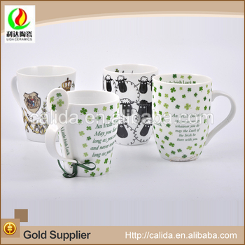 Beautiful 2016 modern style LD12186 creative ceramic mug with special glaze