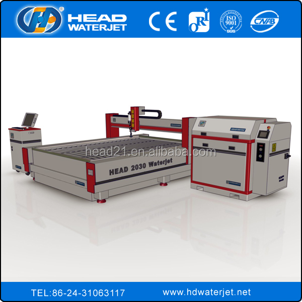 CNC bridge system service marble water jet tile cutting machine service