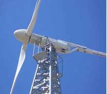 wind power generator horizontal axis pitch controlled 10k wind turbine