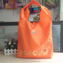 promotion cheap foldable shopping polyester bag