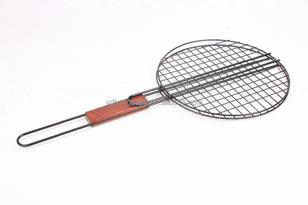 hot sell bbq basket,grill roasting wire mesh,outdoor cooking utensils