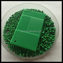 Low Price PP PE Plastic green Color Masterbatch For Blowing Film / Injection / Extrusion