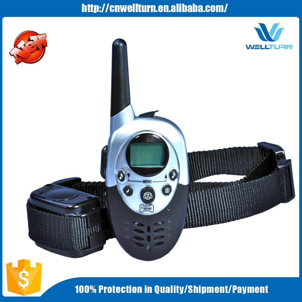 2016 Amazon High Quality Vibration Sound Shock Dog Dark Control E Collar Manufacturer from China