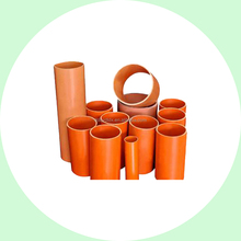 PVC cable protection pipe/Rigid PVC tubing