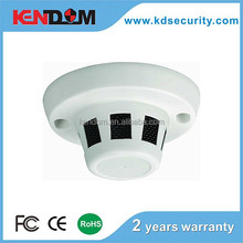 "Kendom Smoke detector like hidden camera ccd or cmos 4.5"" Plastic dome Camera AHD/TVI Solution Available"