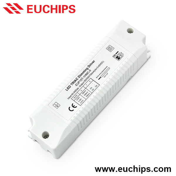 Phase-cut Dimming Compatible with PWM LED Driver 350mA 700mA 500mA 37V DC Dimmable Constant Current LED Driver 15W Single Output