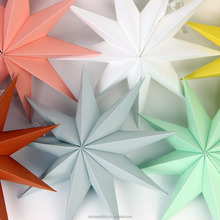 Home Party Supplies Christmas Decoration 2017 Christmas Star Paper Star Lantern