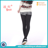 Sample knitting high quality big manufacture queen size pantyhose